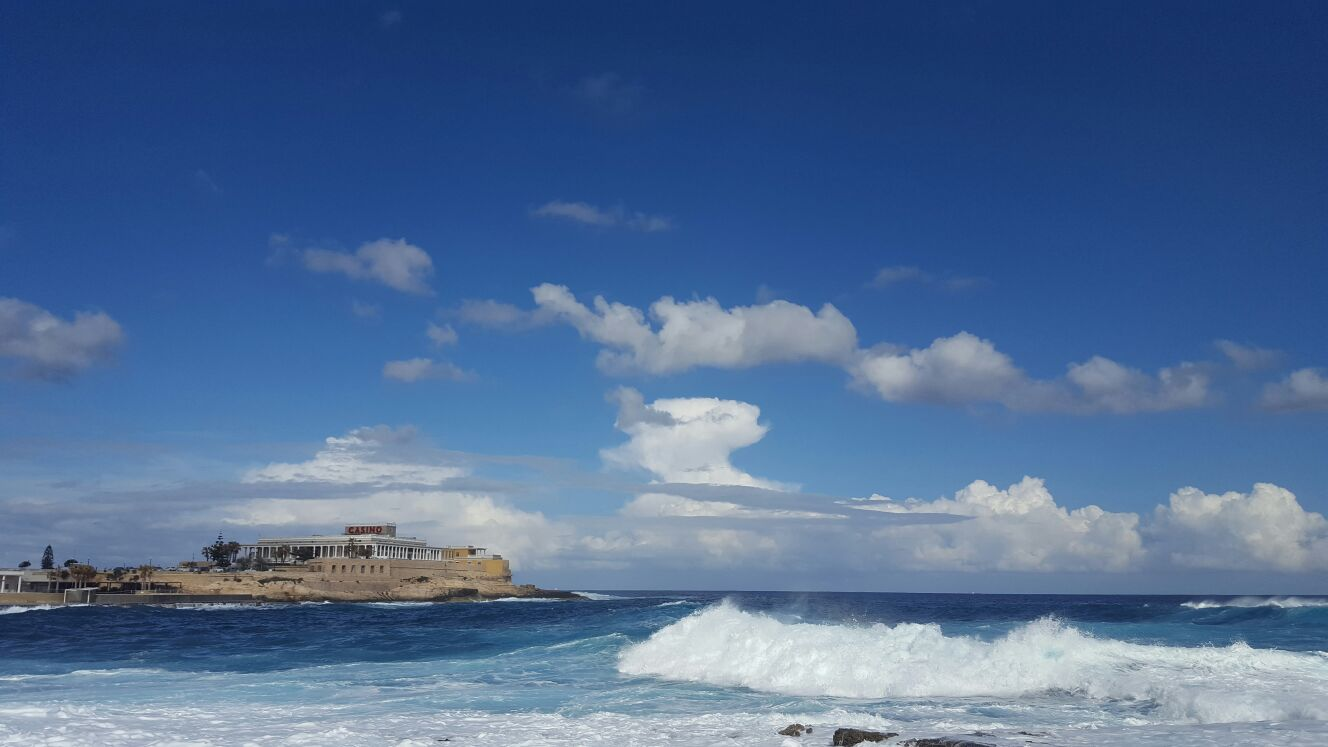 Malta indómita y brava..