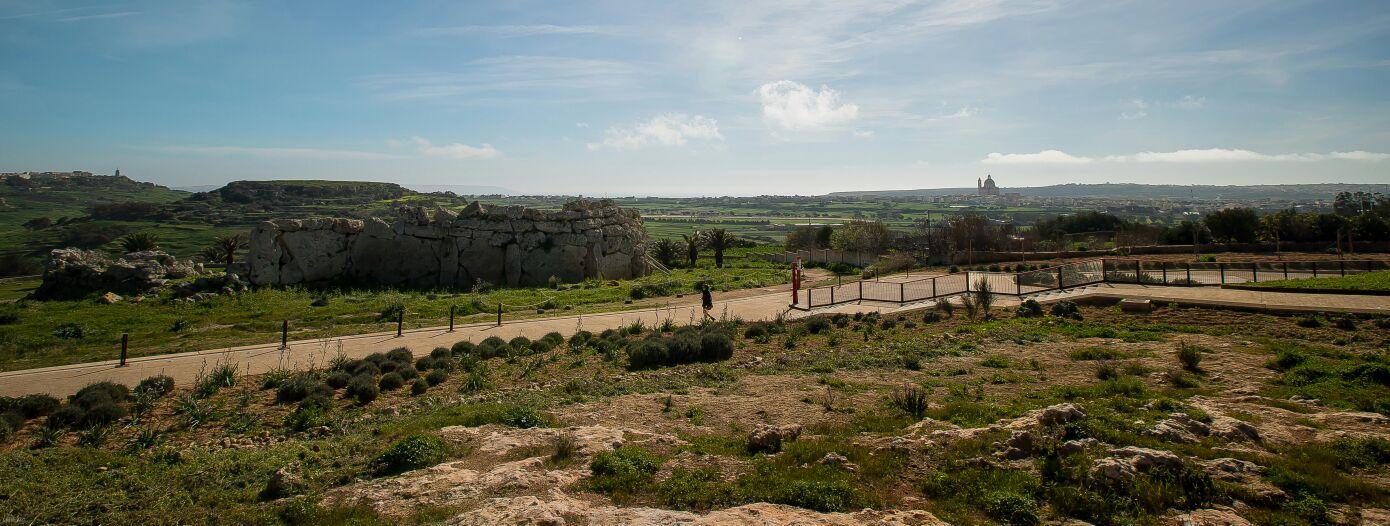 Yacimiento de Templos de Ggantija. Gozo.