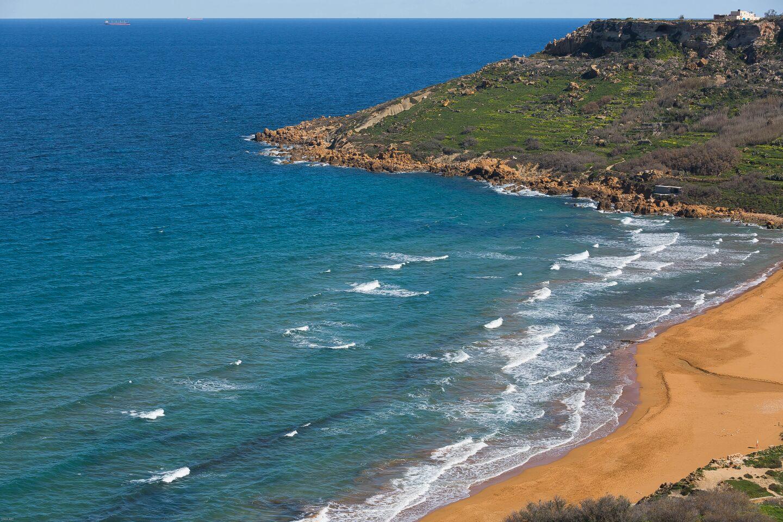 Bahía de Calypso. Gozo. Malta