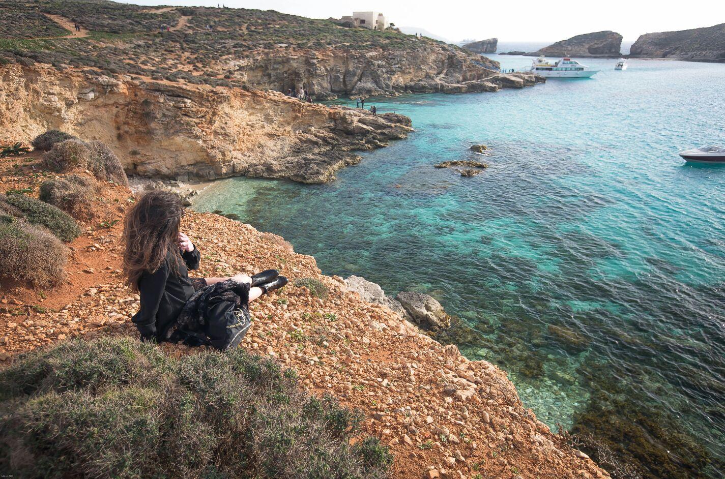 Blue Lagoon. Malta. Isla Comino.