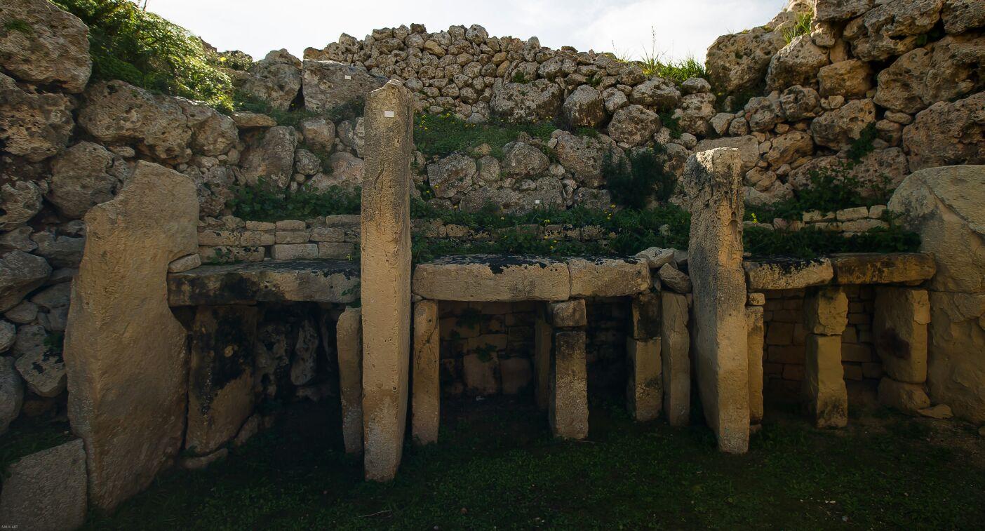 Templos Ggantija. Gozo.