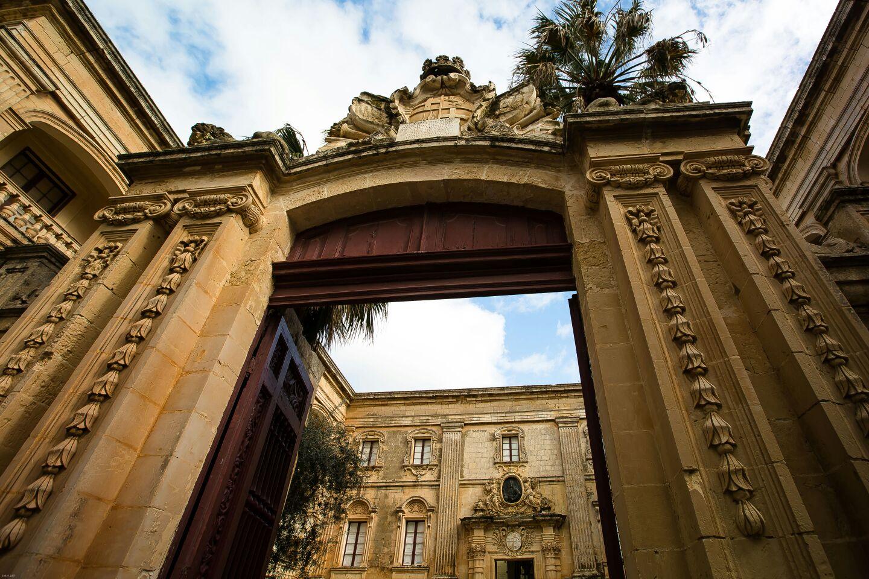 Mdina. Malta. Vilhena Palace