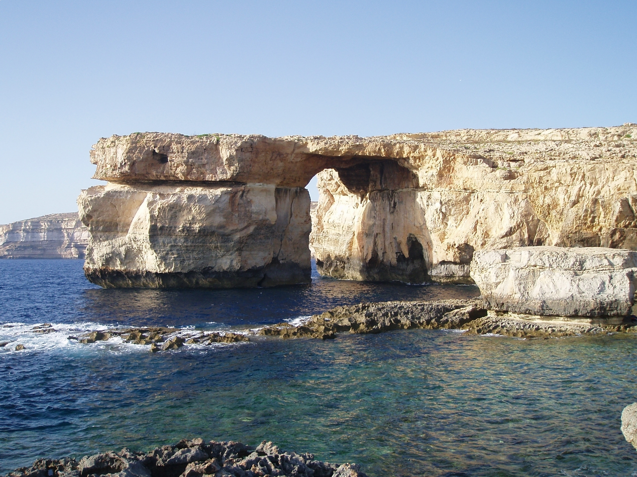 Azure Window antes del desprendimiento 2.012.