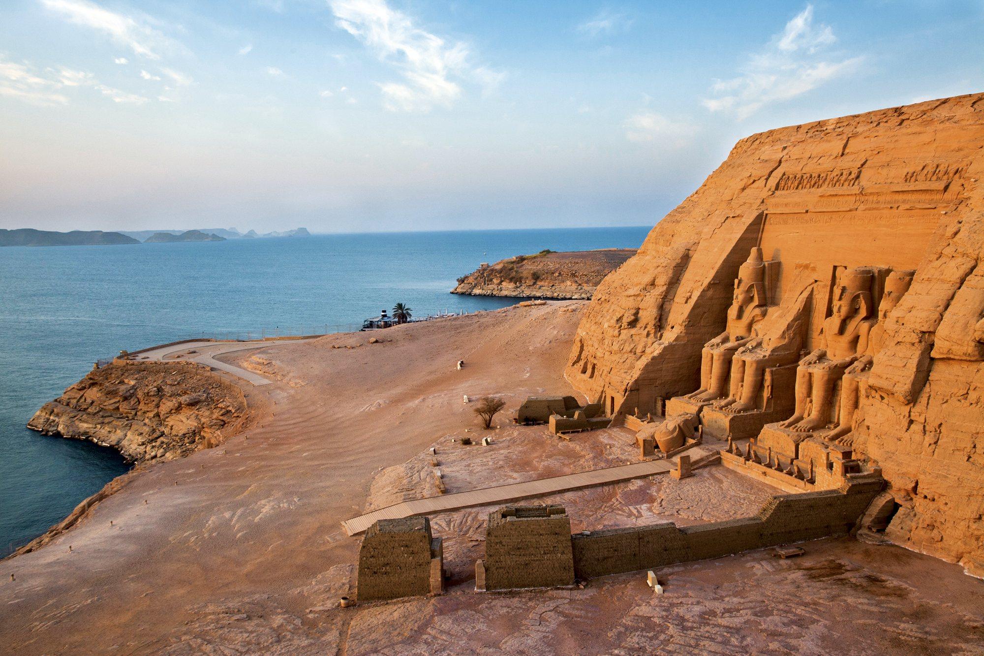 Río Nilo. Templos Abu Simbel