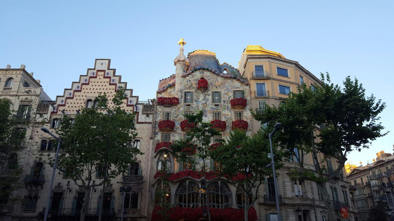 Casa Batlló. San Jordi 2017