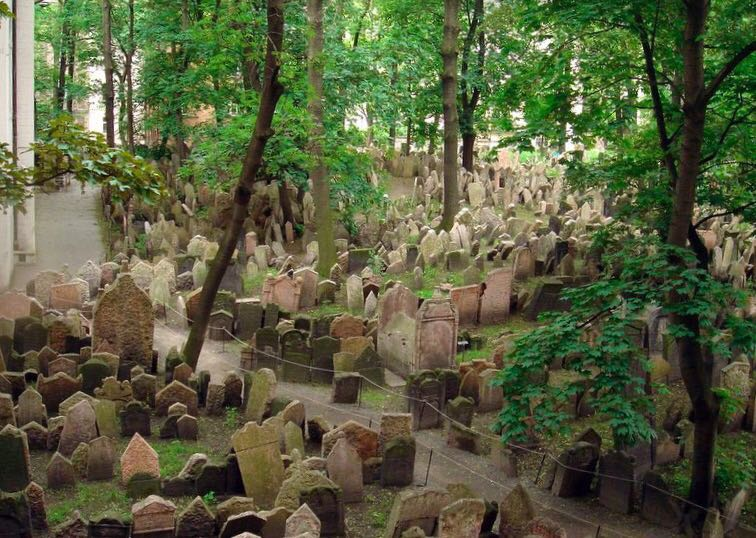 Praga. Cementerio Judío