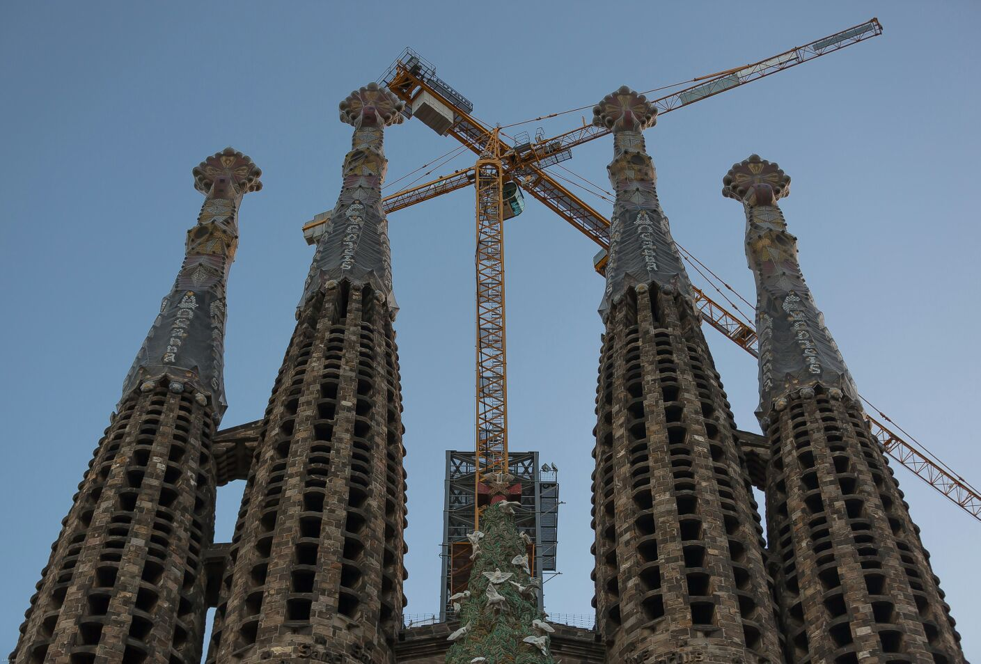 La Basilica va creciendo...