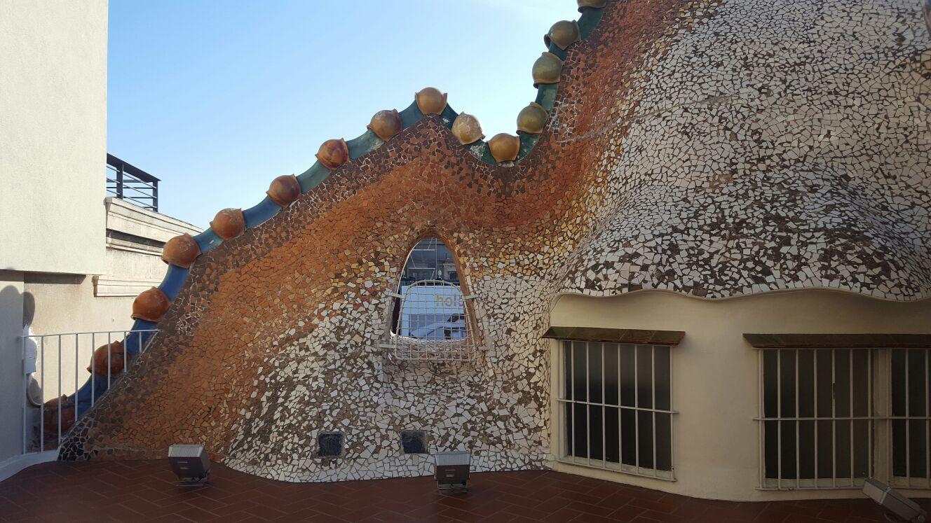 Ojo del Dragón, desde donde Gaudí contemplaba La Sagrada Familia.
