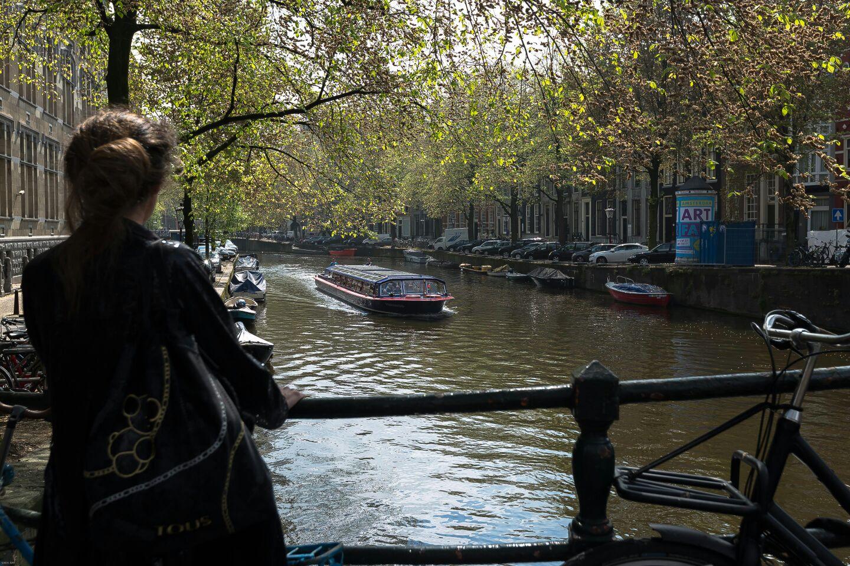 Canal arriba...canal abajo. Amsterdam