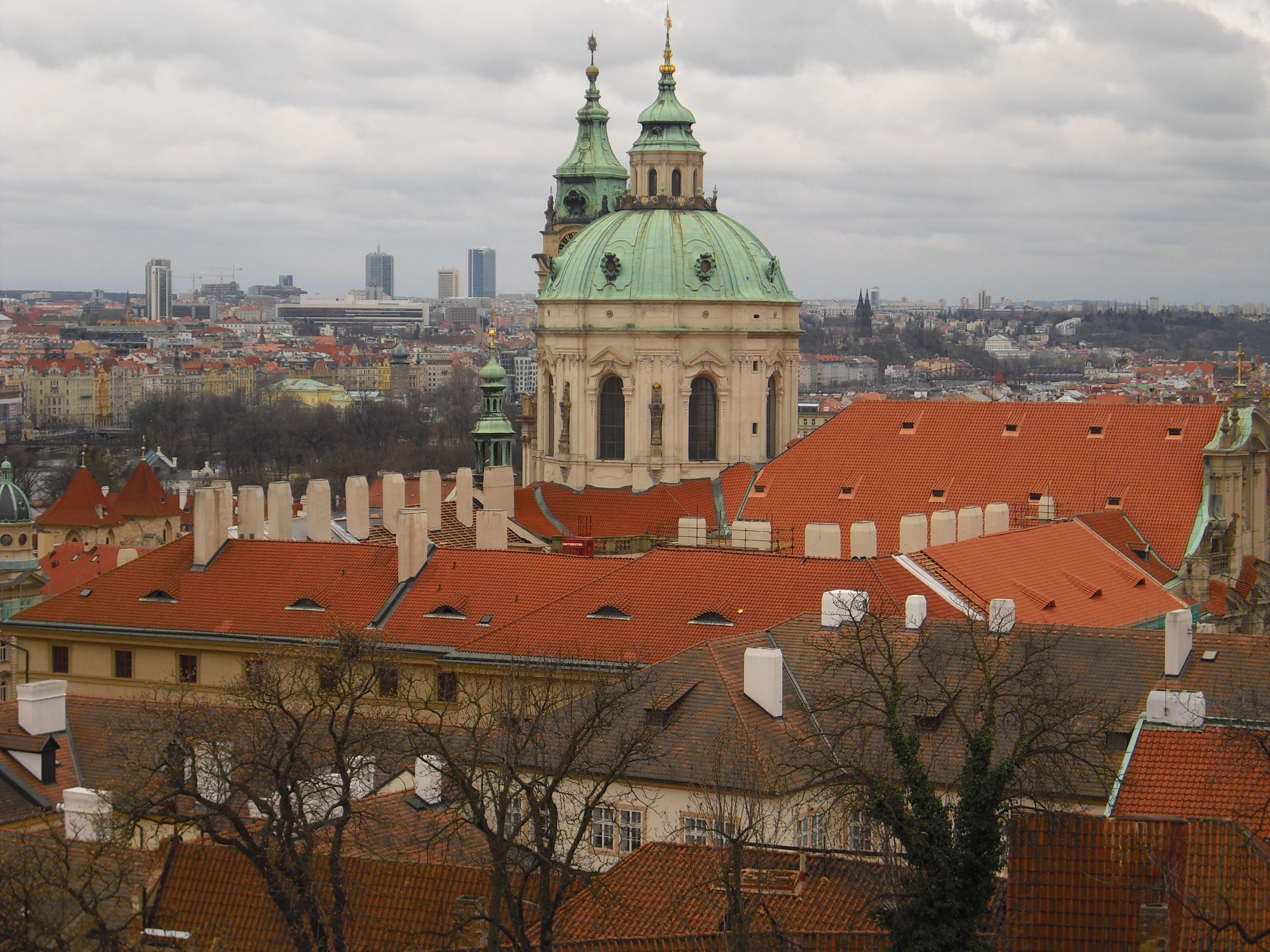 Según la leyenda abandonar Praga no es fácil ...