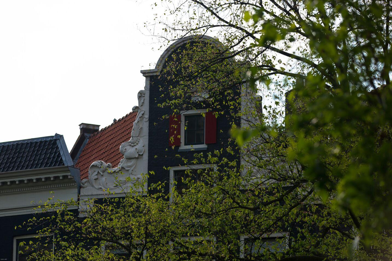 En las proximidades del distrito Wallen bellas casas