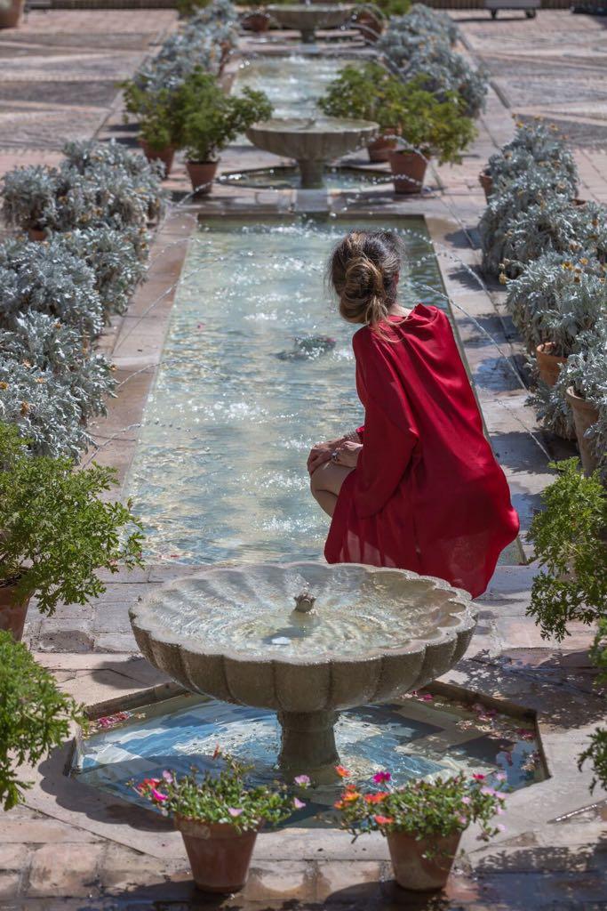 Los patios...un jardín de sensaciones que atrapa...