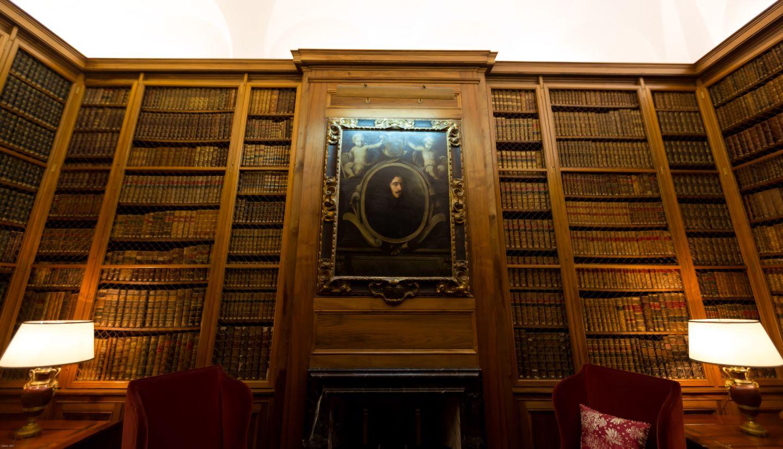 La biblioteca con más de siete mil tomos variados...