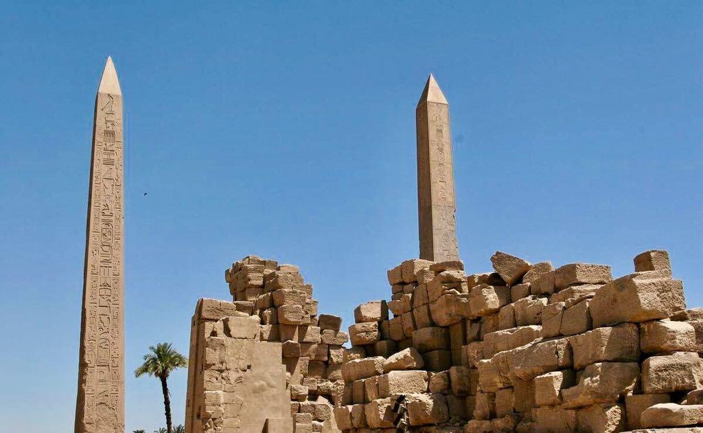 Los obeliscos eran símbolos del dios Sol
