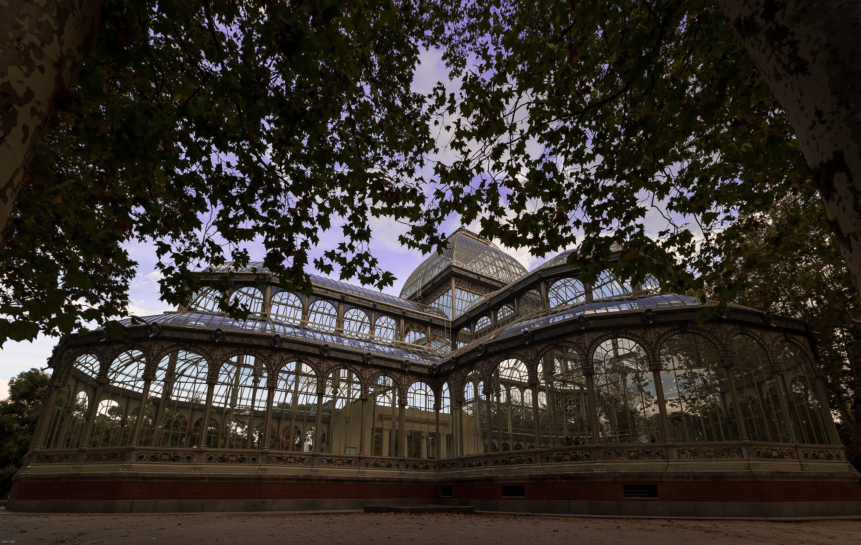 El Palacio de Cristal...