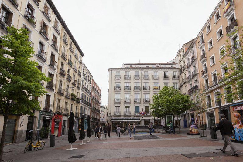 La plaza de Chueca toma su nombre del compositor Federico Chueca