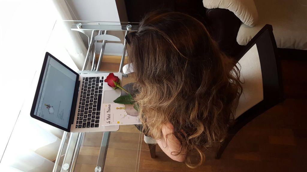 Una rosa el 23 de abril significa algo más que una declaración de amor...