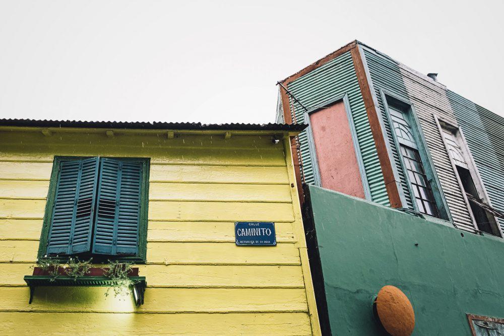 La calle de Caminito es un viaje al pasado