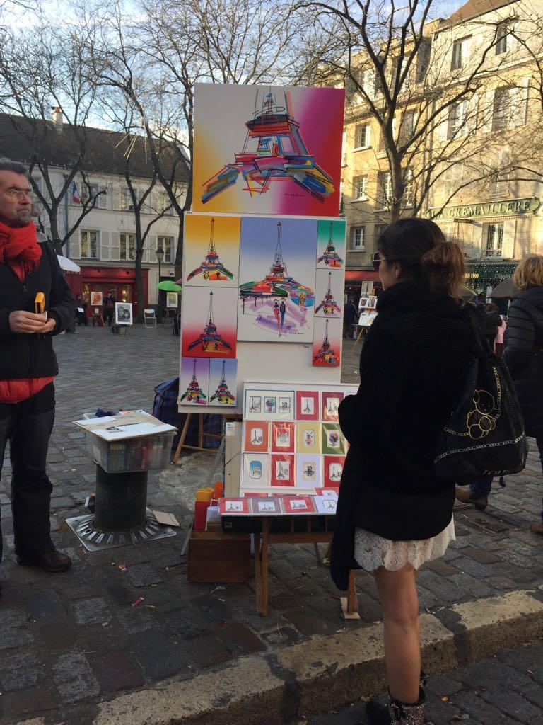 París. La mochila ha callejeado por Montmartre varias veces en cada viaje a París