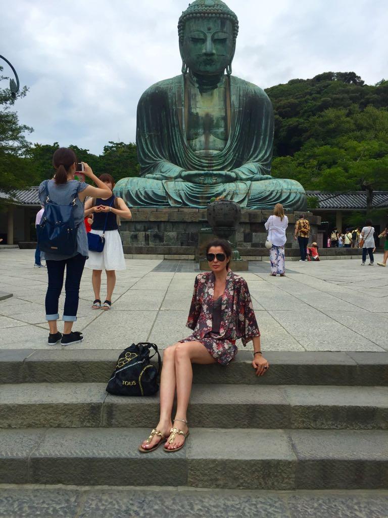 Japón. La mochila recorrió con ella durante quince días todo el país