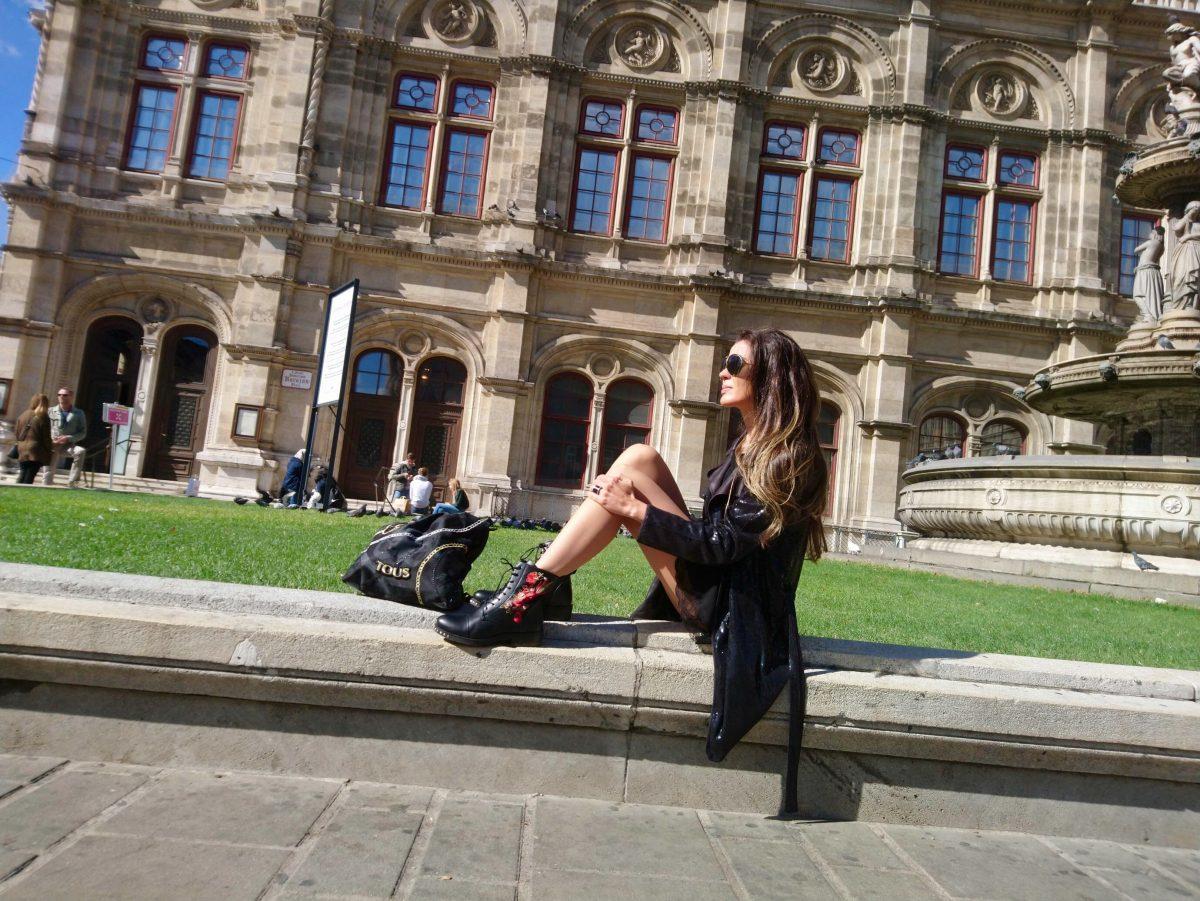 El edificio de La Ópera...