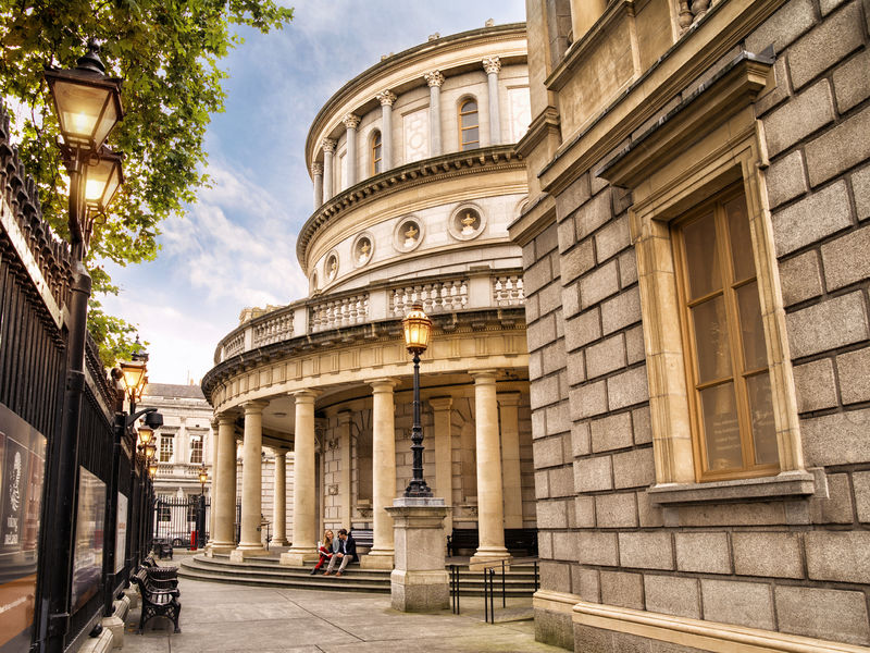 El National Museum of Ireland, el museo principal de Irlanda