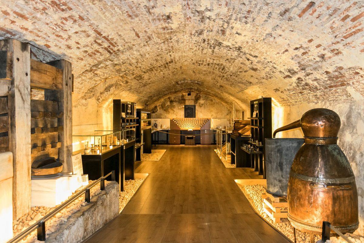 El museo del Patio de los Perfumes...