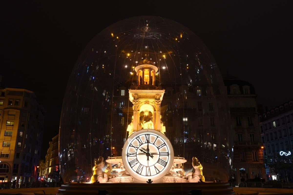 En el Festival de las Luces la ciudad se convierte en un museo al aire libre