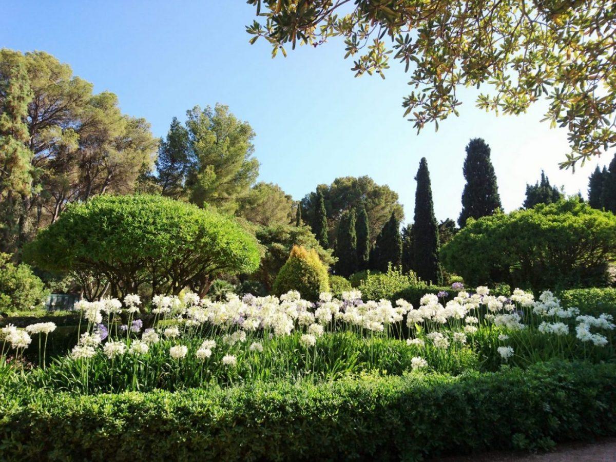 Los jardines de Marivent son un museo al aire libre