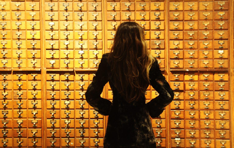 El Mundaneum, el conocimiento de la humanidad archivado en miles de cajones...